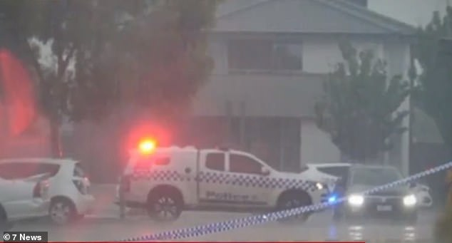 A baby boy was rushed to the Royal Children's Hospital in a critical condition and is now fighting for his life after being locked in a car on a hot day in Melbourne's south-west