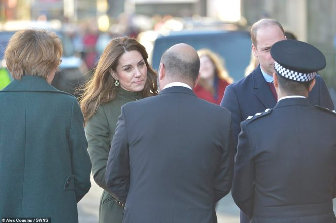The Duchess of Cambridge arrives in Bradford today as the royal couple visit a number of projects in the city