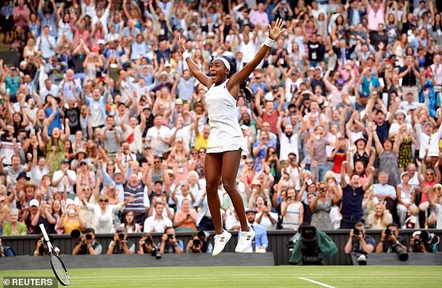 It proved to be one of 2019's best moments when Gauff, 15, beat Venus Williams at Wimbledon