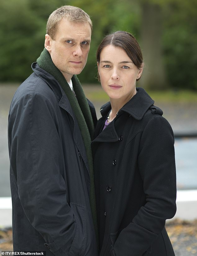 Olivia (pictured with Darren Boyd in Case Sensitive) had half of the pancreas, spleen, gallbladder, and a portion of her liver removed during surgery at King's College Hospital in London