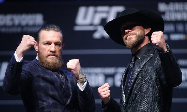 How to watch Conor McGregor vs Donald Cerrone at UFC 246?