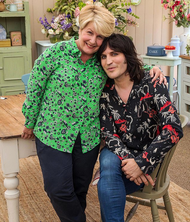 Sandi Toksvig and Noel Fielding star on Channel 4 programme The Great British Bake Off