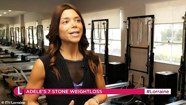 Opening: Los Angeles-based personal trainer Camila Goodis revealed that the changes are mainly due to a significant decrease in her daily calorie intake.