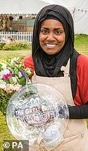 Nadiya Hussain wins Bake Off in 2015