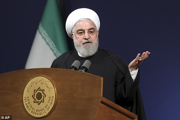 President Hassan Rouhani said today there was 'no limit' on Iran'suranium enrichment