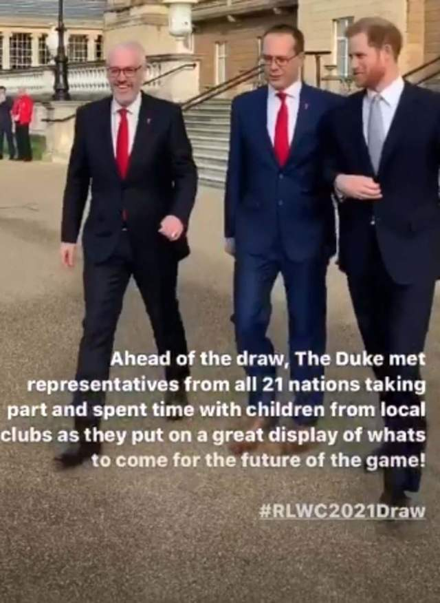 Team Sussex filmed Harry as he carried out the first royal duty since he quit - but there are no more Sussex events in the diary