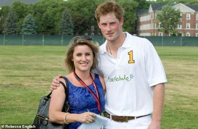REBECCA ENGLISH reveals a touching vision of Prince Harry's personality