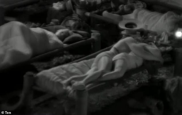 Too sudden?Last week alone, they kissed, shared a bed and spooned overnight - all in full view of the cameras and their fellow campmates