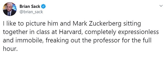 People also claimed that Kushner resembled Facebook founder Mark Zuckerberg