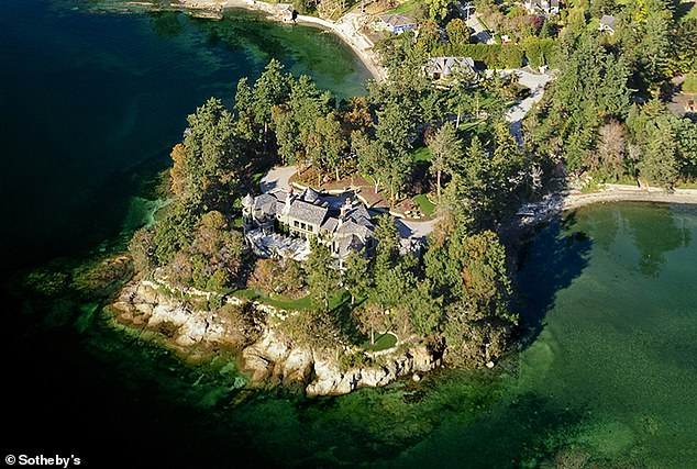For several weeks over Christmas and New Year they and their baby son, Archie, holidayed at Mille Fleurs, a £10.7 million waterfront mansion on Vancouver Island