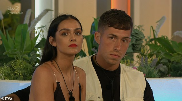 Fuming: Connor reluctantly picked Siânnise after his partner Sophie was chosen by new boy Connagh
