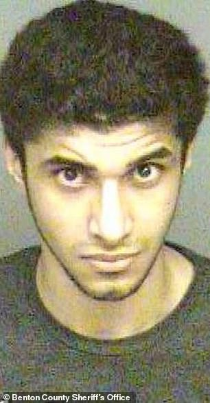 Ali Hussain Alhamoud, an Oregon State University student, was charged with raping a young woman in 2012