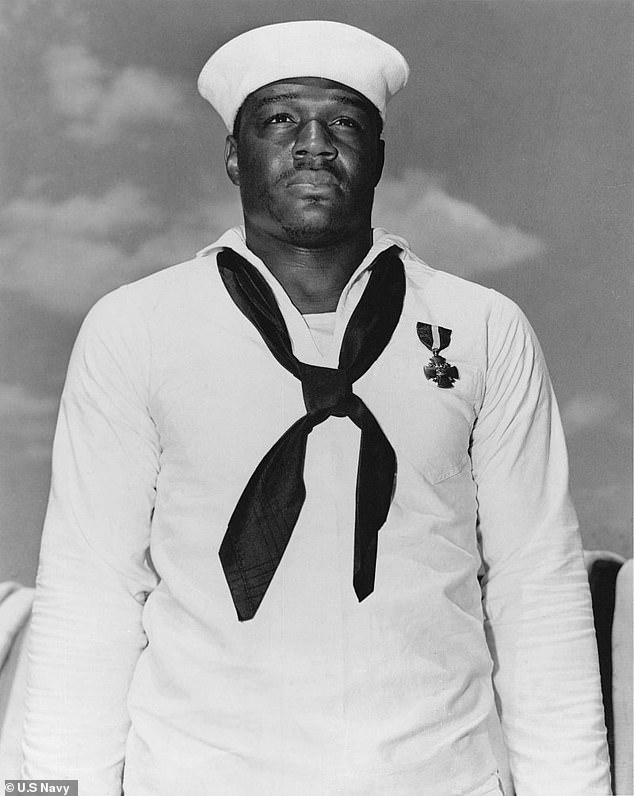 The US Navy is expected to honor Mess Attendant 2nd Class Doris Miller (pictured), naming a new aircraft carrier after him