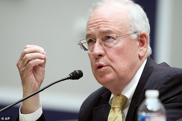 Ken Starr (pictured) was part of the impeachment investigation for Bill Clinton and drafted the 'Starr Report', which became the basis for the 1998 impeachment