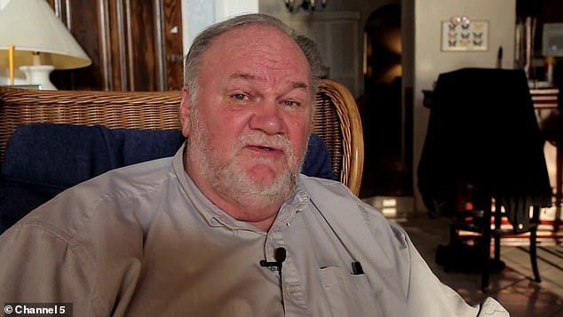 In a Channel 5 TV documentary, Thomas Markle describes Meghan and Harry's behaviour as embarrassing