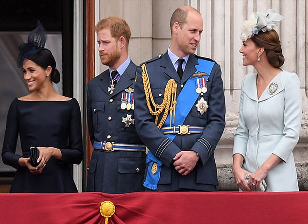 He tells the Channel 5 documentary: 'When they got married they took on an obligation, and the obligation is to be part of the Royals and to represent the Royals. And it would be foolish for them not to'