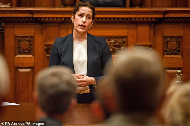 Victoria Atkins, Minister for Crime, Safeguarding and Vulnerability, pictured, said the introduction of new anti-stalking powers tomorrow will provide added protection for victims