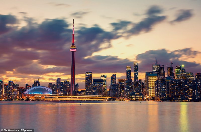 Highlights: Toronto's skyline featuring the CN Tower, which features a Glass Floor so you can walk or crawl across it while looking down 1,122ft
