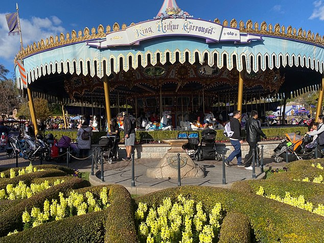 It was initially reported that Excalibur was undergoing refurbishment as part of King Arthur's Carrousel's repairs