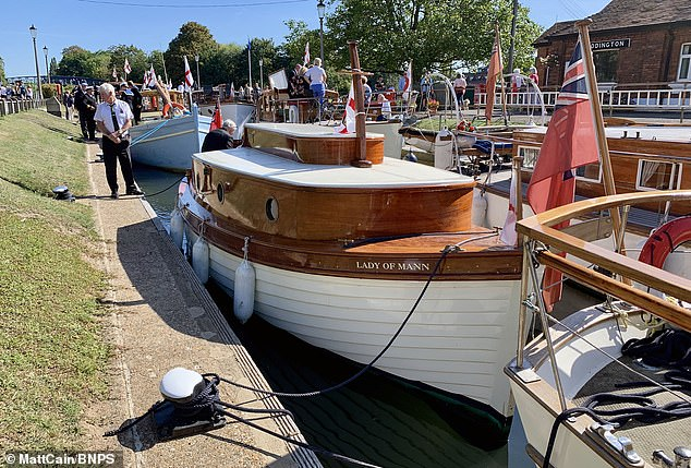 The Lady of Mann (pictured after the restoration) was lifeboat number eight on board the passenger ship RMS Lady of Mann, which brought 4,262 men back to England in May 1940