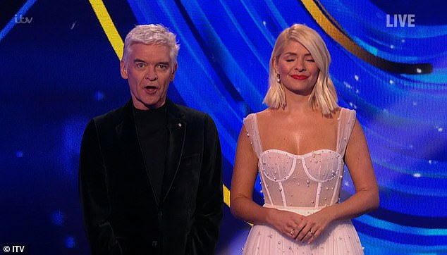 Dancing On Ice: Phillip Schofield is forced to apologize while Maura Higgins drops the F-BOMB