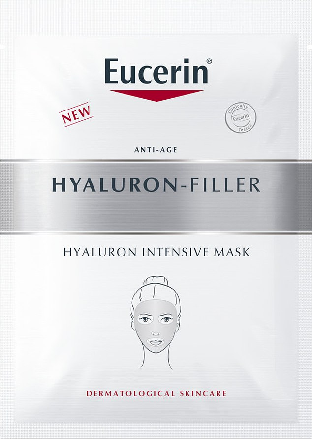 Alice saidEucerin Hyaluron-Filler Intensive Mask (pictured) didn't budge once in place and took only five minutes to use