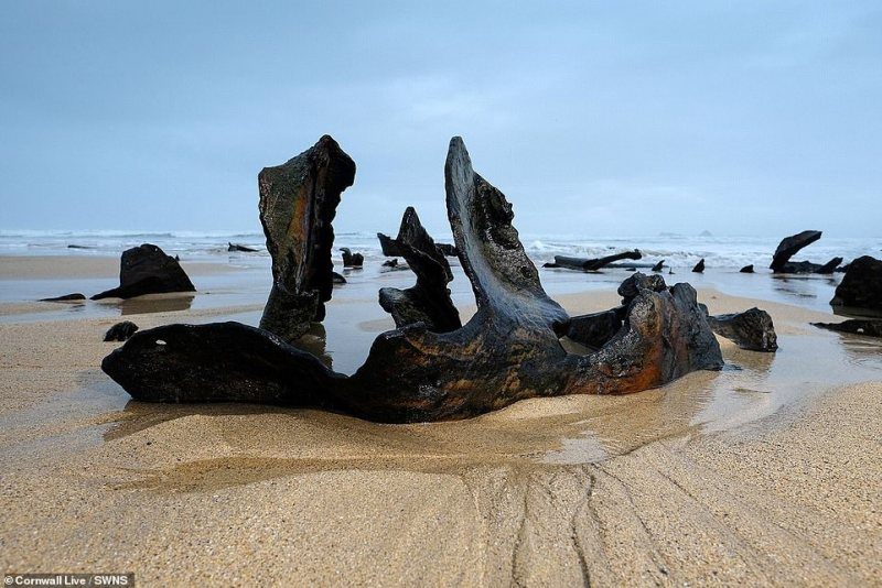 With a coastline stretching around 250 miles, it is estimated that there have been over 6,000 ships wrecked off the Cornish coast