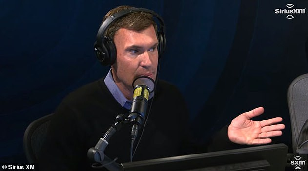 Angry: Flipping Out star Jeff Lewis aired more dirty laundry about his ongoing custody battle on his SiriusXM show Friday, vowing to fight ex Gage Edward 'to the bitter f***ing end'