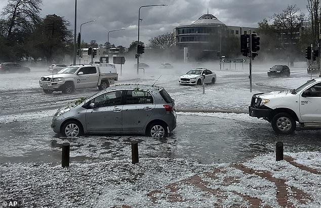 Hailstorms cause $ 97 million in damage as insurers declare catastrophe