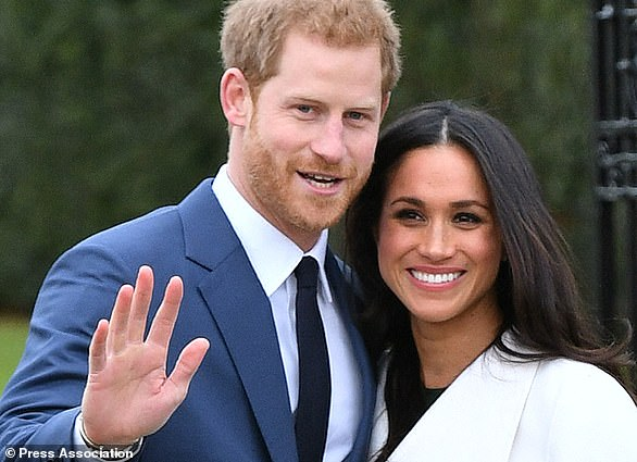 At the time of their engagement, it was announced that Meghan would be applying for British citizenship (Dominic Lipinski/PA)