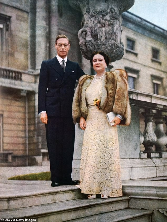 Charles is understood to have inherited millions from his grandfather King George VI, who died in 1952, and from the Queen Mother, who died in 2002.  The royal couple are pictured on their Silver Wedding Anniversary in 1948