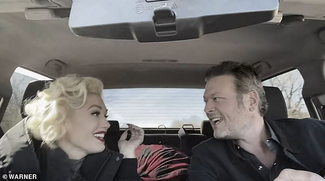 Everyday life: Blake and the 50-year-old pop diva were filmed kissing over milkshakes and fries, cuddling on a couch with a dog, and driving around in his truck