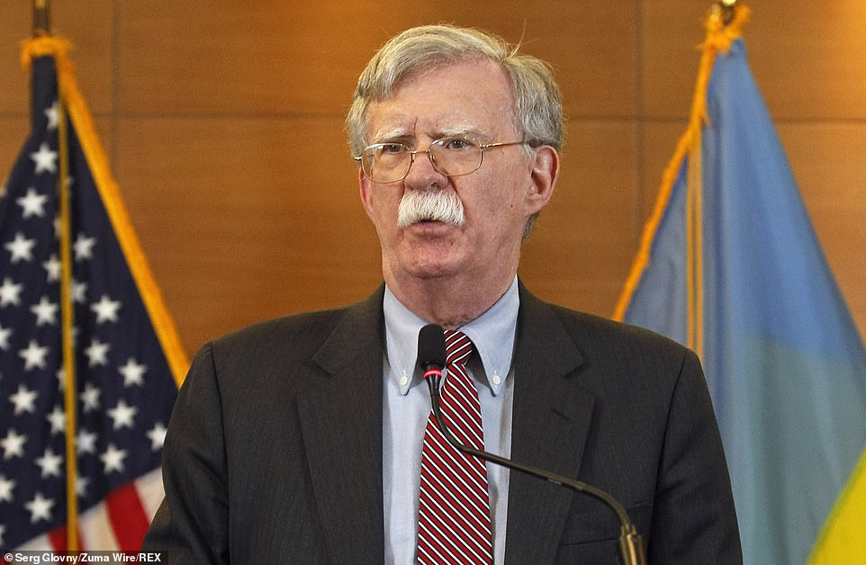 'They didn't want John Bolton and others in the House,' Trump said of the Democratic impeachment inquiry and his fired national security advisor