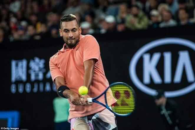 The 24-year-old put on a dominant serving performance and was never broken in the encounter, taking a straight sets victory in two hours and 13 minutes