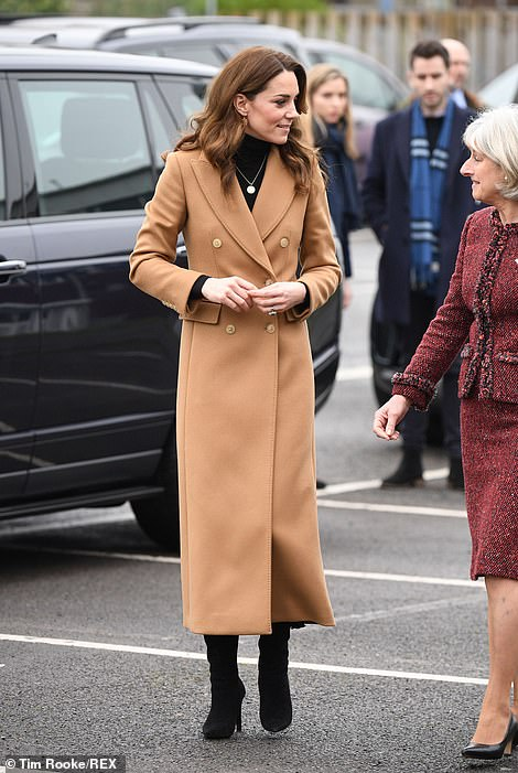 Kate in Cardiff today