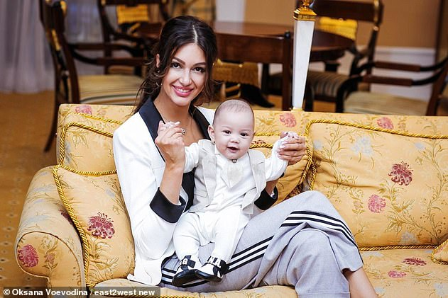 Oksanahas told the former monarch that the baby is 'a copy of you' and is ready for a DNA test