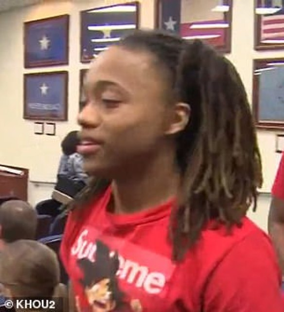 TEEN is BANNED from his own graduation unless he cuts his dreadlocks