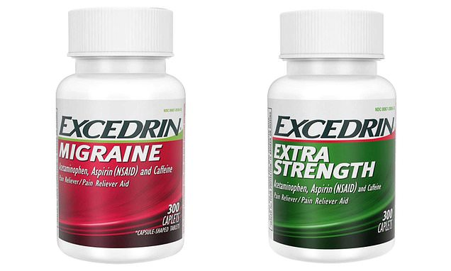 Two Excedrin products pulled from shelves over mixing fears