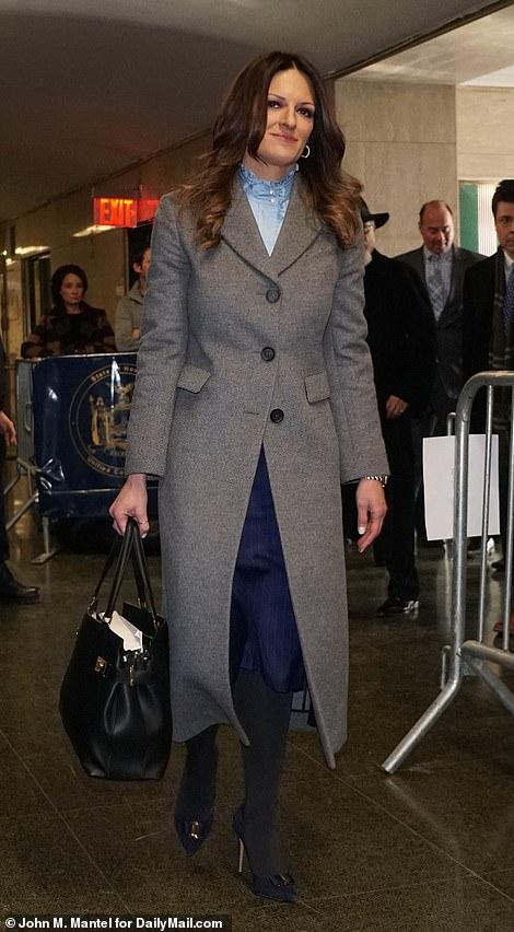 Weinstein's lead attorney Donna Rotunno is pictured arriving