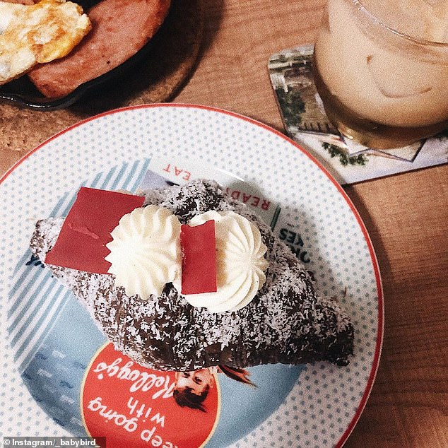 A Sydney patisserie has whipped up a lamington croissant just in time for Australia Day