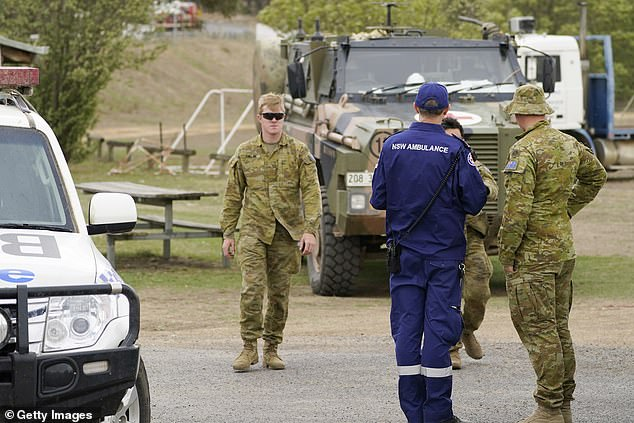 The army was called in to help locate the crash site and extract any survivors