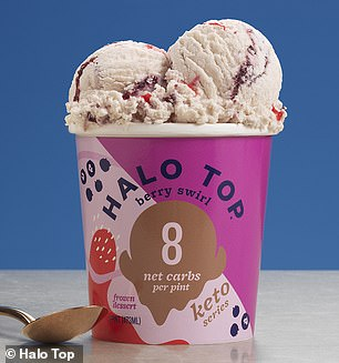All new flavors, too! Pictured is the Berry Swirl