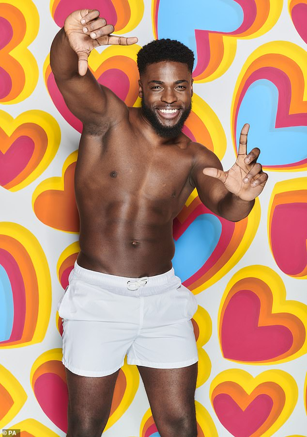 'Door open':Ahead of Love Island, Mike said of his former role: 'I did resign to come on the show. But I spoke with the chief Ian Hopkins and thank God we've got a good relationship. So he has left the door open for me to come back if I do want to come back.' (pictured show still)