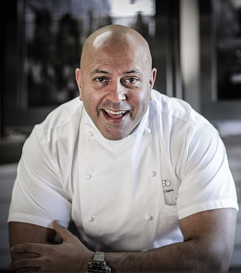 Sat Bains is a past winner of the Great British Menu