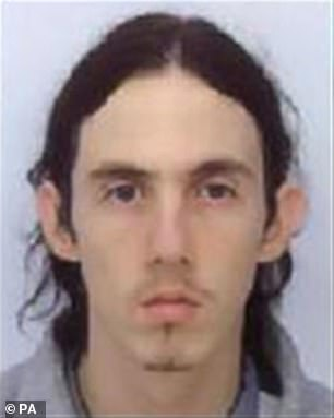 Paul Fitzgerald, 29, is alleged to have killed Richard Huckle (pictured) at Full Sutton Prison in October last year
