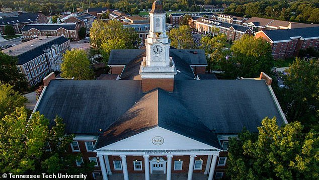 Another being tested is a student at Tennessee Tech University (pictured) who had a 'concerning' travel history, health officials said