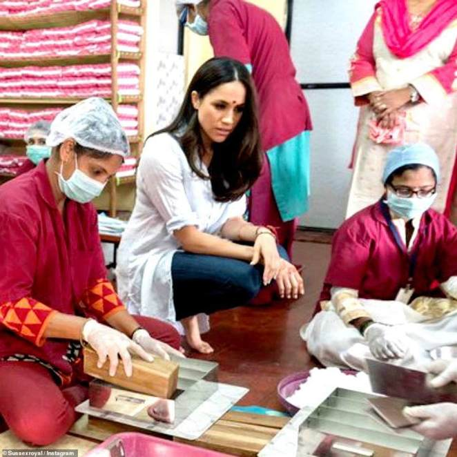 In 2017 Meghan visited India as a World Vision Global Ambassador where she advocated for gender equality. The actress focused on highlighting girls¿ lack of access to education, speaking with activists who work to improve access to girls¿ latrines