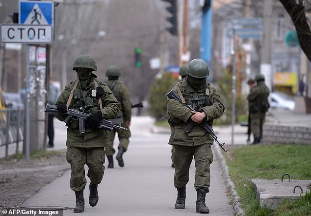 'If you're a conservative Russian military planner, you only send special forces to places where you are fairly certain they will be perceived as liberators, not occupiers,' said paper author and political scientist Jesse Driscoll of UC San Diego