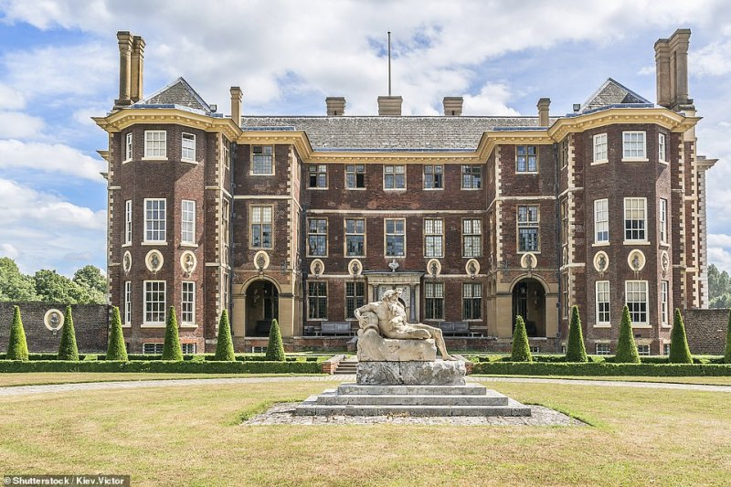 Ham House, pictured, a magnificent Stuart pile that dates back to the 1600s and is located on the banks of the Thames in Richmond