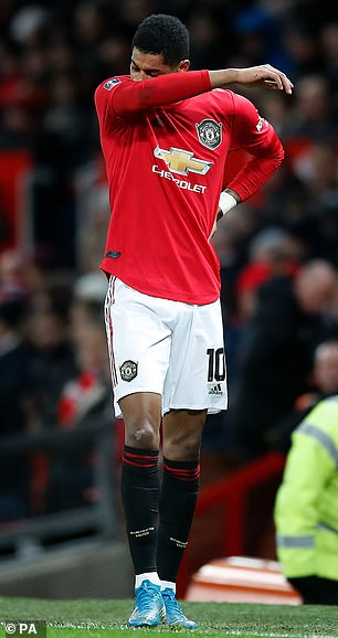 The United striker is facing three months out with a back injury